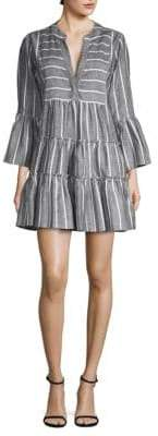 Caroline Constas Lyssa Tiered Ruffle Dress