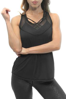 Just Live Active Energy Racerback Tank