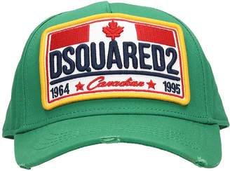 DSQUARED2 Green Cotton Hat