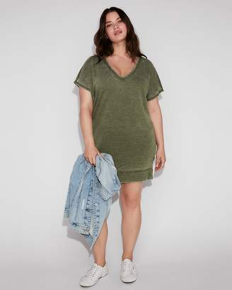 Express Strappy Back London Shirt Dress