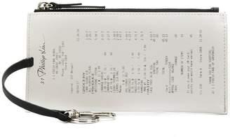 3.1 Phillip Lim receipt top zip purse