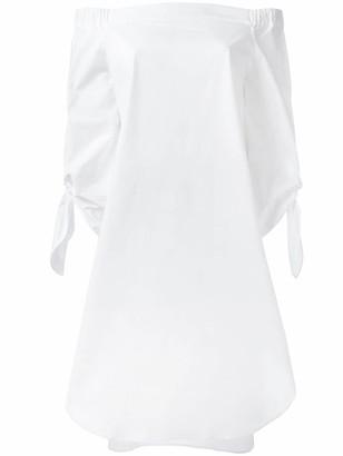 Cavallini Erika off-shoulders shift dress