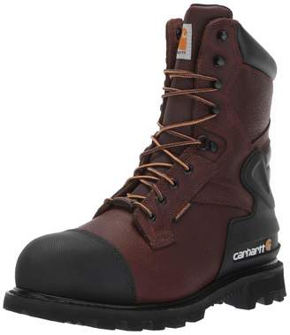 Carhartt Men's CSA 8-inch Wtrprf Insulated Work Boot Steel Safety Toe CMR8859 Industrial