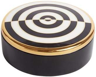 Jonathan Adler Optical Art Porcelain Round Box