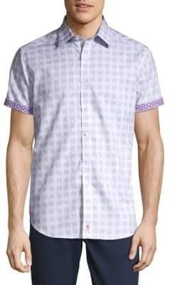 Robert Graham Cotton Check Shirt