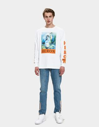 Heron Preston Parachute Denim 5-Pocket Pants in Blue