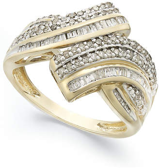Wrapped in Love Diamond Twist Ring in 10k Gold (1/2 ct. t.w.), Created for Macy's