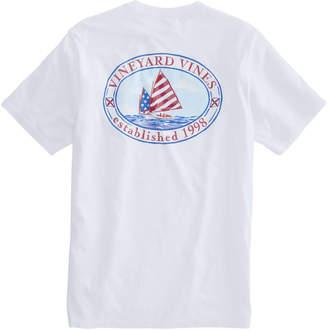 Vineyard Vines American Sail Pocket T-Shirt