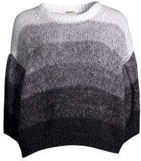 Caroline Constas Ombre Mohair-Blend Sweater