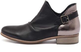 Django & Juliette Ironic Black-dk bronze Boots Womens Shoes Casual Ankle Boots
