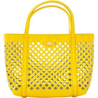 Dolce & Gabbana Yellow Patent leather Handbag