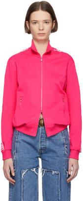 Versus Pink Logo Track Jacket