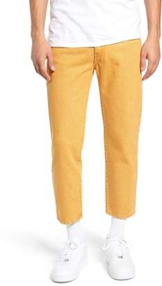Denim & Supply Ralph Lauren Dr. Denim Supply Co. Otis Straight Fit Crop Jeans
