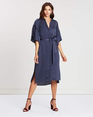 Atmos & Here Mads Midi Shirt Dress