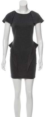 Torn By Ronny Kobo Paneled Mini Dress
