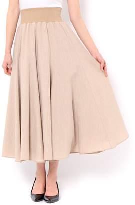 And Couture (アンド クチュール) - アンドクチュール 麻タッチロングスカート