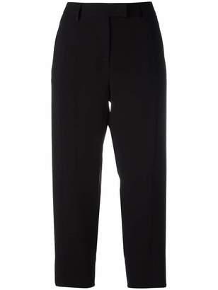 Alberto Biani flap pocket cropped trousers