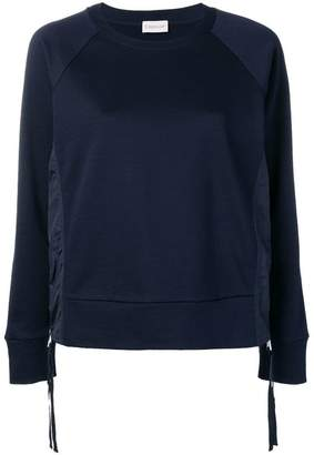 Moncler side zip sweatshirt