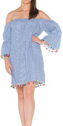 Bella Off Shoulder Dress $68 thestylecure.com