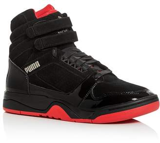 Puma Men's Palace Guard Mid Red Carpet Sneakers