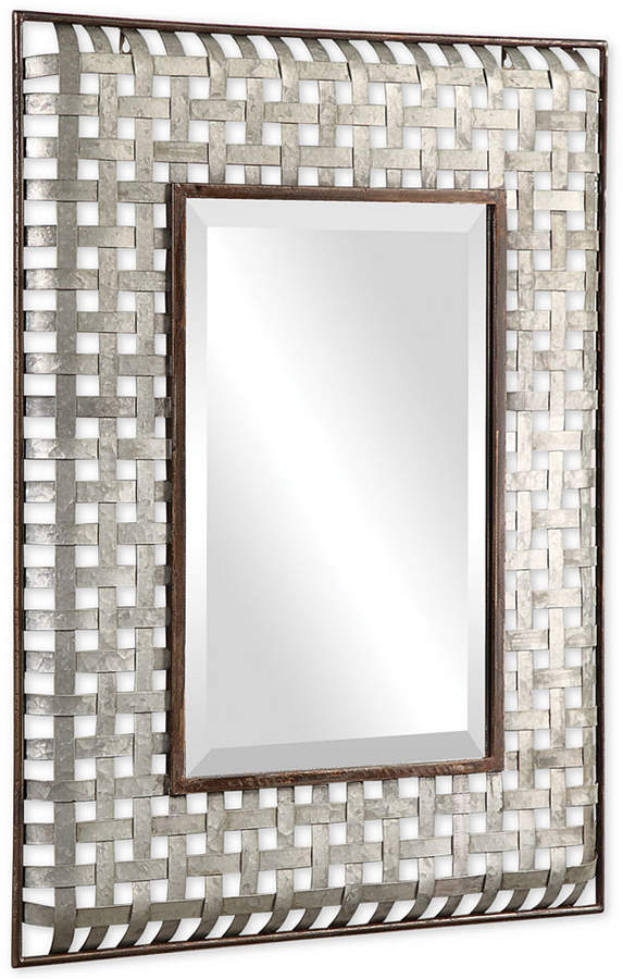 Uttermost Fabelle Galvanized Metal Mirror