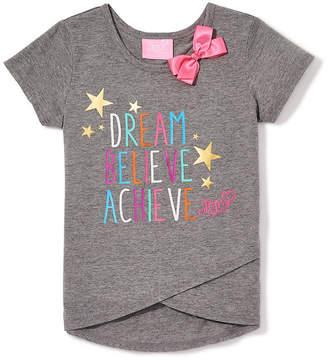 Jacques Moret Jojo Siwa By Danskin Graphic T-Shirt-Big Kid Girls