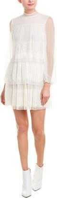 Valentino Silk-Lined A-Line Dress