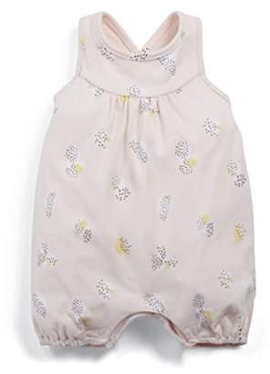 Mamas and Papas Baby Girls' Geo Print Short Romper,3-6 Months