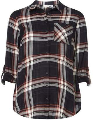 Dorothy Perkins Womens **Maternity Blue Checked Shirt