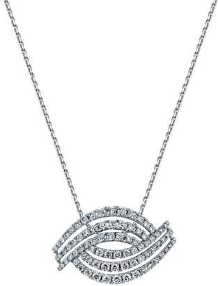 Sylvie 14k White Gold Pendant