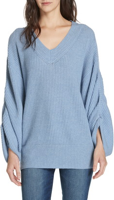 Brochu Walker Levar Wool & Cashmere Sweater
