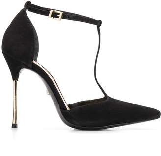 Schutz T-bar strap pumps