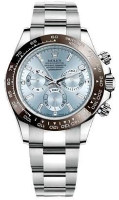 Rolex Daytona 116506 Perpetual 40mm Cosmograph Platinum Baguette Watch $81,250 thestylecure.com