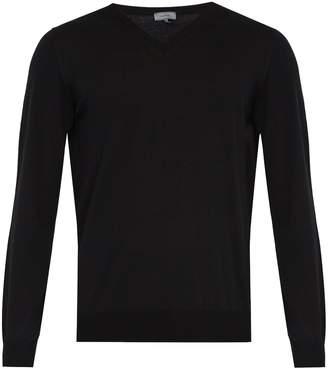 Lanvin V-neck wool sweater