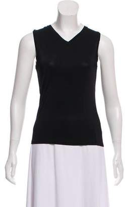 Max Mara 'S Sleeveless V-Neck Top