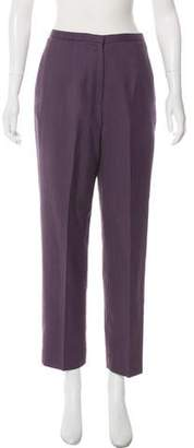 Pendleton Wool High-Rise Pants