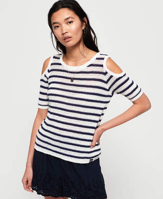d3a0eaf1759 Superdry Makena Stripe Crochet Top