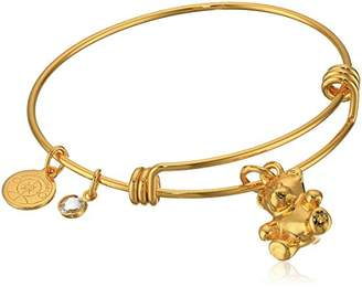 Halos & Glories Teddy Bear Charm Bangle Bracelet