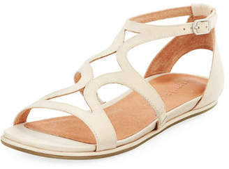 Gentle Souls Oak Flat Comfort Sandals
