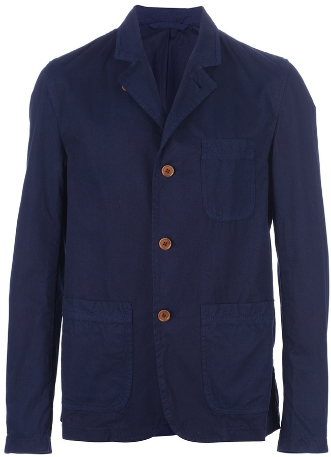 Gloverall patch pocket jacket