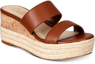 Callisto Foundation Espadrille Platform Wedge Sandals Women's Shoes