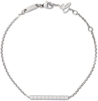 Chopard 18kt white gold Ice Cube Pure bracelet