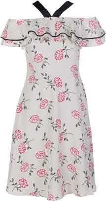 Armani Collezioni Floral Printed Dress