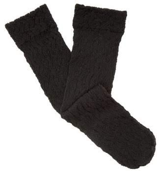 Falke - Paper Flower Ankle Socks - Womens - Black