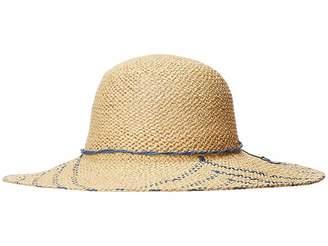 San Diego Hat Company PBL3095OS Woven Paper Sun Brim w  Color Pop Pattern 3063f392d60