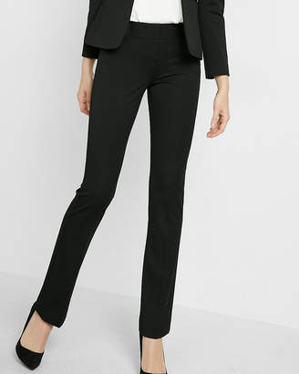 Express Petite Low Rise Barely Boot Columnist Pant