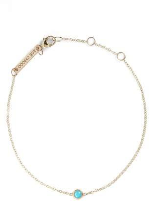 Chicco Zoe Turquoise Bezel Line Bracelet