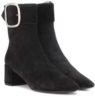 Saint Laurent Joplin 50 suede ankle boots