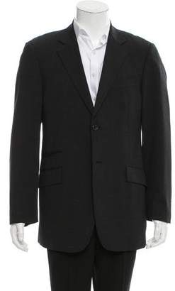 Burberry Wool Two-Button Blazer