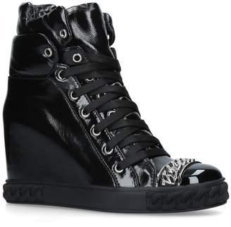 Casadei Wedge Sneaker Boots